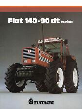 Fiatagri 140-90 DT Fiat SALES BROCHURE/POSTER 80's ADVERTISEMENT ULTRA RARE A3
