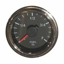 """fuel Gauge, 2""""/52mm, full ranges, LED, low fuel warning, 001-F-BC"""