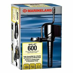 Marineland Maxi-Jet 600, Multi-Use Water Pump And Power Head, Fully Convertible