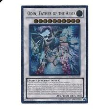 *** ODIN, FATHER OF THE AESIR *** ULTIMATE RARE  STOR-EN040 YUGIOH!