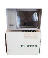 Vintage Photax Solar 2 Viewer In Original Box