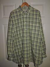 John W. Nordstrom  Checkered Pocket Front Shirt Size XL