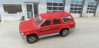 Majorette Toyota Runner 4x4 No 276 1/58 Red SUV Diecast Car - France Toy Car