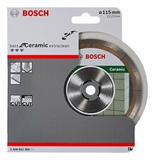 Bosch 2608602368 best for ceramic diamond Extraclean lame 115mm x 22 fast cut