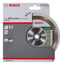 BOSCH 2608602368 migliori per ceramica Extraclean Diamante Lama 115 x 22 taglio veloce
