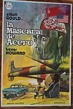 Used - Cartel de Cine  LA MASCARA DE ACERO  Vintage Movie Film Poster - Usado