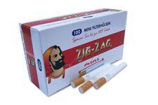 ZIG-ZAG ® mini 500 Empty Cigarette Filter Tubes 5 Boxes of 100
