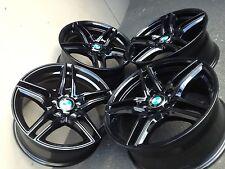 17 Zoll Borbet XR Felgen 5x120 Schwarz BMW 3er 1er Coupe Cabrio e90 e91 e46 e92