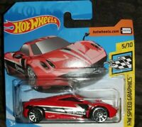 Hot Wheels PAGANI HUAYRA 2019 SPEED GRAPHICS 5/10 *NEW* RED BOXED SHIPMENT