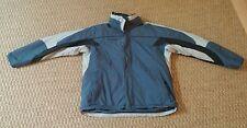 Columbia Sportswear mens blue winter jacket parka size Large