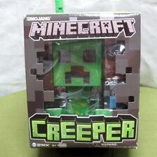 MINECRAFT figure Creeper toy NWT in box Spin Master sandbox video-game 2013 Jinx