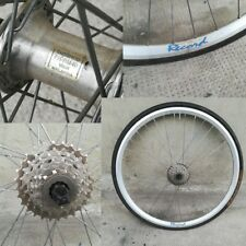 "ruota posteriore vintage eroica rear wheel bici bike  26"""