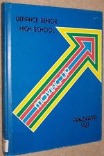 1981 Defiance High School Yearbook Annual Defiance Ohio OH - Panorama