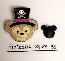 RARE DISNEY HIDDEN MICKEY DUFFY BEAR DR. FACILIER HAT COMPLETER CAST PIN