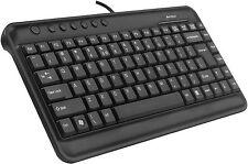 A4 Tech KL-5 Compact Mini Multimedia Keyboard Black - USB