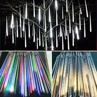 20 30 50cm LED Meteor Shower Rain String Tube Lights Party Tree Decor Romantic