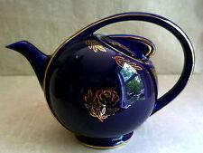 Vintage HALL Airflow Cobalt Blue Teapot 6 Cup 0443