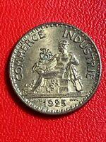 #5598 - 2 francs 1925 CDC SUP/SPL - FACTURE