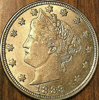 1883 USA LIBERTY 5 CENTS COIN - No cents - Uncirculated