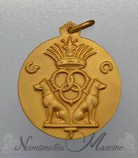 Medaglia con Cofanetto Esposizione Internazionale Canina Fiorentina