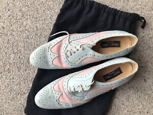 Paul Smith Ladies Pink and Blue Shoes size 5 1/2