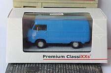 HANOMAG F25 KASTENWAGEN BLAU 1965 PREMIUM CLASSIXXS 13400 1/43 TOLE BLUE BLEU