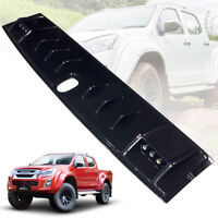 FRONT ROOF SPOILER CARBON WITH LED FOR ISUZU D-MAX DMAX 2012 13 14 15 16 17 18
