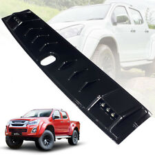 FRONT ROOF SPOILER CARBON BLACK WITH LED FOR ISUZU D-MAX DMAX BLADE 11-19