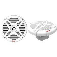 """Pyle 6.5"""" Dual Marine Waterproof Bluetooth 2-Way Speakers (Pair, White)"""