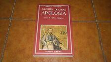 ARISTIDE DI ATENE APOLOGIA I ED. NARDINI 1988 TESTO GRECO A FRONTE