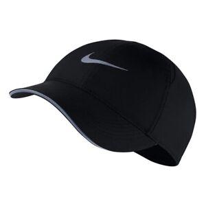 NIKE DRI FIT AEROBILL FEATHERLIGHT WOMENS RUNNING CAP One Size AR2928-010