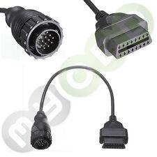 Für MB Sprinter VW/LT Adapter von OBD2 auf OBD1 14 Pol rund NEU und OVP