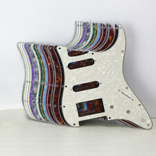 New HSS Strat Electric Guitar Pickguard Scratch Plate 11-Hole for US FD Strat