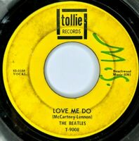 The Beatles - 1964 Rock 45 RPM Tollie 63-3188 - P.S. I Love You / Love Me Do Z2