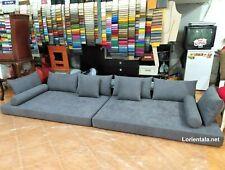 Gray Floor Sofa Couches Arabic cushion Turkish Seat Indoor Outdoor Fabric