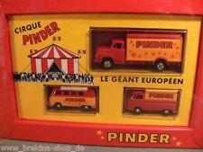 1/87 Brekina Circus Pinder VW T1 Bus VW T1 Pr Saviem Set