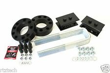 "F150 2004-2008 LIFT KIT 3"" STRUT SPACER 4"" STEEL TAPERED BLOCK 2"" LIFT 4WD USA"