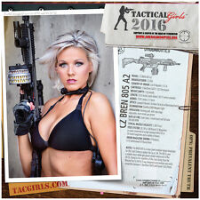 Tactical Girls 2016 Gun Calendar USMC Soldier Sailor Airman Shooter Gift