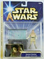 Star Wars ESB Hoth Evacuation General Rieekan Figure & Tactical Screen 2004 MOC