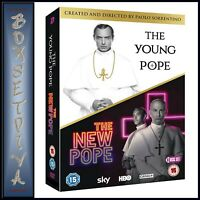 THE YOUNG POPE & THE NEW POPE  ** BRAND NEW DVD BOXSET ****