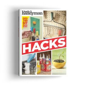 New Family Handyman Hacks Hardcover book