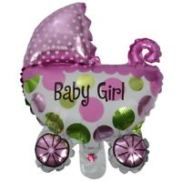 Aluminum Foil Pram Balloon Decoration for Baptism Baby Birtay Party Annive L6M1