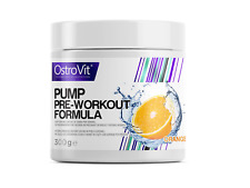 OstroVit Pump 300g 30 serv Powerful Pre-Workout Beta-Alanine Caffeine AAKG