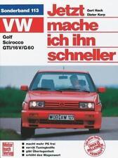 VW Golf II / Scirocco GTI von Dieter Korp (1986, Taschenbuch)