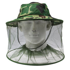Moskitohut Mückenschleier Insektenschutz Imkerhut - UNIVERSAL - Camouflage