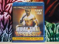 Blu Ray neuf sous blister : Film MUAY THAI ASSASSIN Le dernier combat Tony JAA !