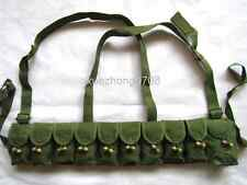 SURPLUS CHINESE MILITARY SKS TYPE 56 SEMI AMMO CHEST-RIG BANDOLIER Chest POUCH