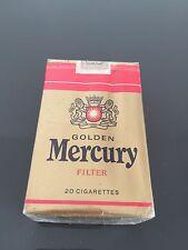 Pacchetto Di Sigarette Da Collezione Mercury
