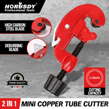 2in1 Pipe Cutter Carbon Steel Tube Cutter Copper Alloy Brass Cutting Tool 3-30mm
