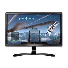 "LG 24UD58 24"" Ultra HD 4K IPS LED Gaming Monitor - Black"